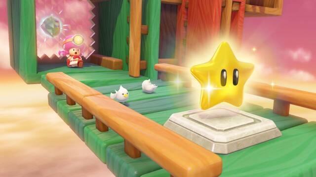 Los amiibos de Super Mario Odyssey desbloquean sus niveles en Captain Toad
