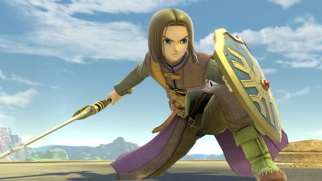 Smash Bros Ultimate: Prohíben a Hero de Dragon Quest en un torneo por ser anticompetitivo