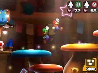 Comparan el nuevo Mario & Luigi con el original de Nintendo DS