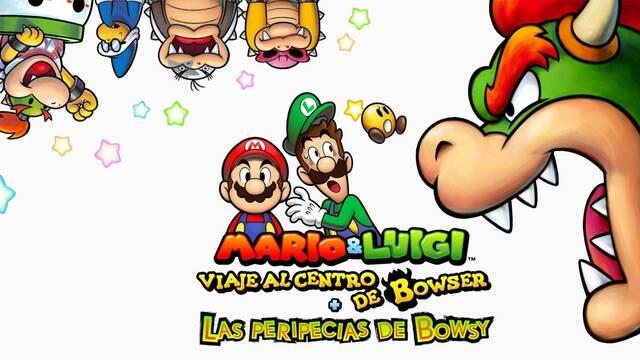 Mario & Luigi : Viaje al centro de Bowser llega a 3DS y estrena tráiler