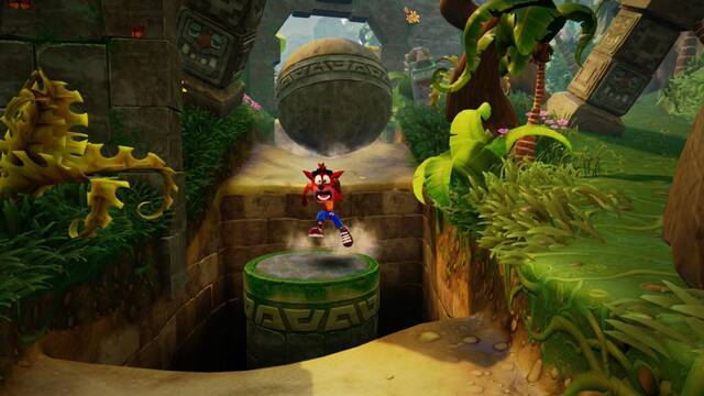 Un solo trabajador hizo posible Crash Bandicoot N.Sane Trilogy en Switch