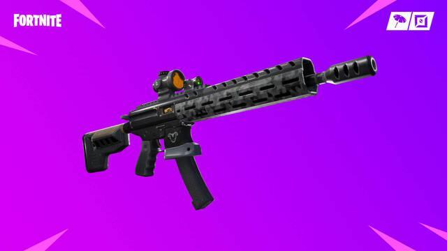 Fortnite recibe el fusil de asalto táctico y otras novedades