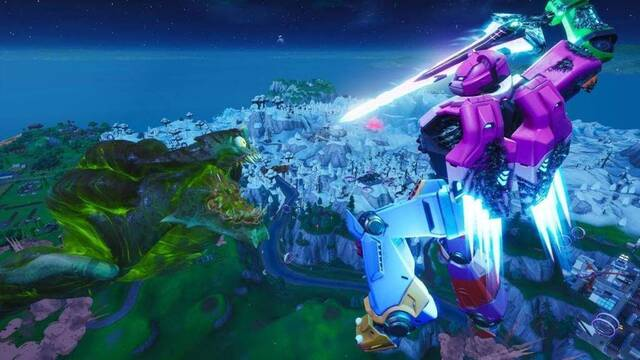 Fortnite: Cattus y Doggus lucharon en un espectacular evento para cerrar la temporada 9