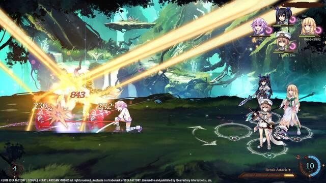 Super Neptunia RPG presenta su vídeo de introducción