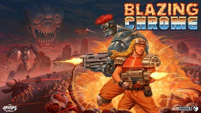 El run and gun Blazing Chrome llega a PS4, PC, Xbox One y Switch el 11 de julio