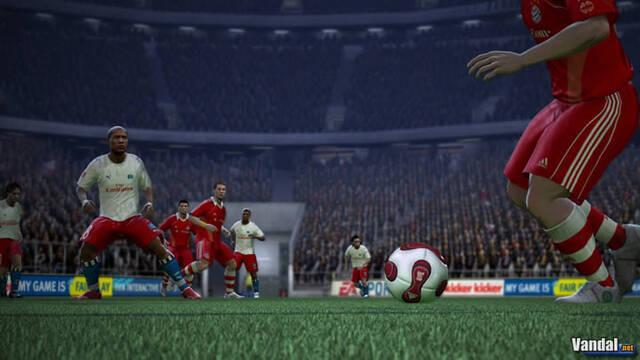 Nuevas imágenes de FIFA 07 para Xbox 360