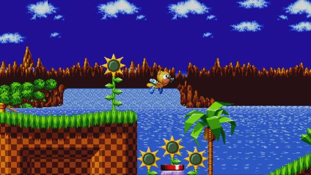 Mighty y Ray se muestran en el modo Encore de Sonic Mania Plus