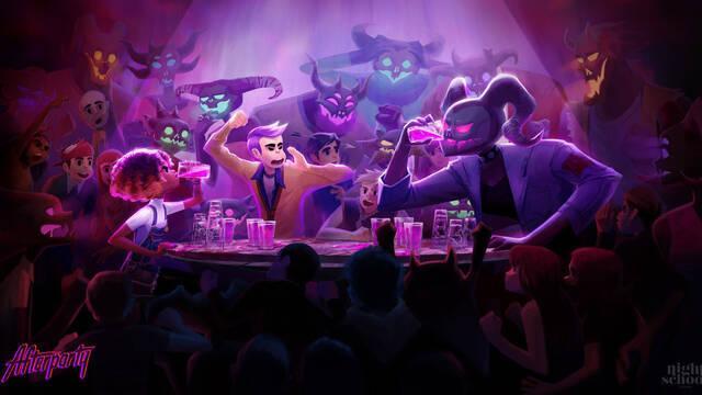 Afterparty, el nuevo juego de los creadores de Oxenfree, llegará el 29 de octubre