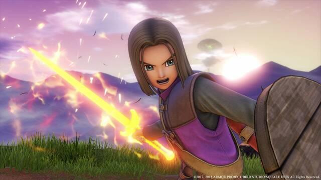 Nueva demostración jugable de Dragon Quest XI en PS4