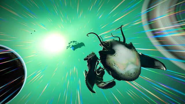 No Man's Sky añade una nave alien y estrena novedades