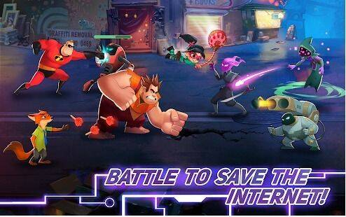 Anunciado Disney Heroes: Battle Mode para dispositivos móviles