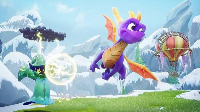 Spyro Reignited Trilogy está superando las previsiones de Activision