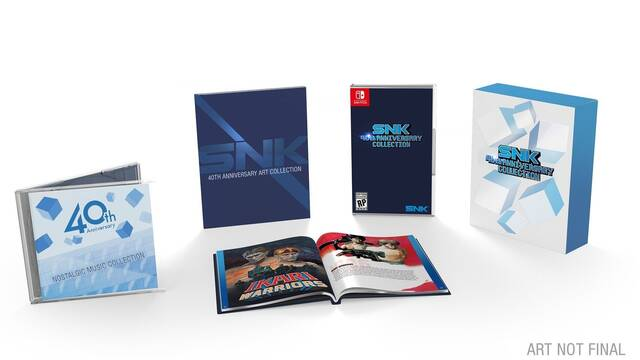 SNK 40th Anniversary Collection recibirá 10 juegos extra gratis