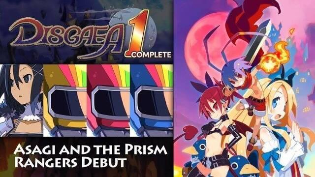 Descubre a los Prism Rangers de Disgaea 1 Complete