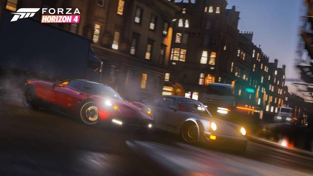Comparan la Edimburgo real con Forza Horizon 4