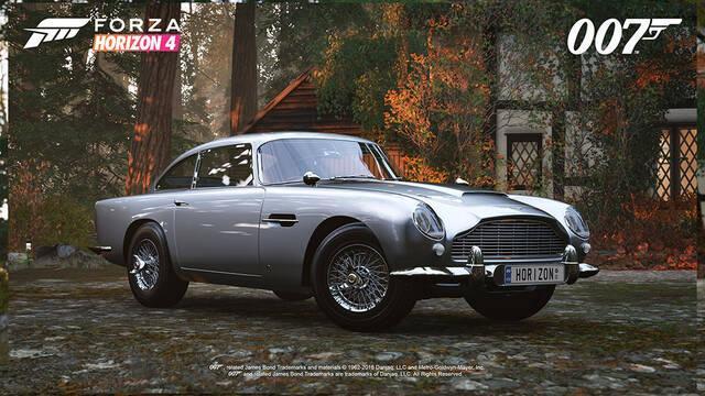 Forza Horizon 4 presenta su pack de coches basado en James Bond