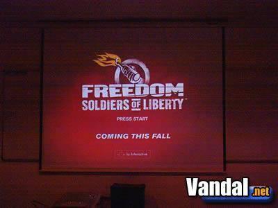 Freedom Fighters presentado en España