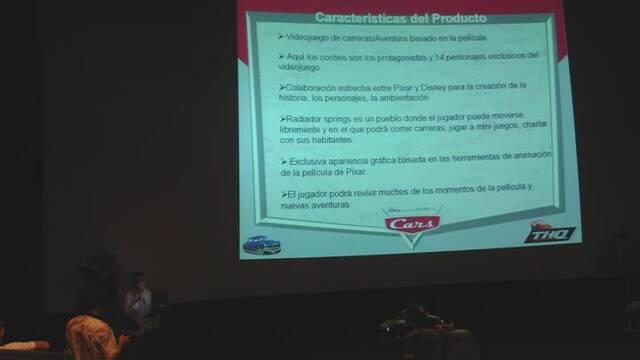 Cars se presenta en España