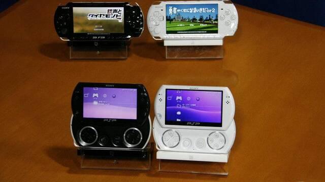 PSP 3000 y PSP Go, frente a frente