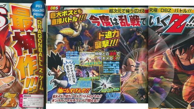 Namco Bandai anuncia Dragon Ball: Battle of Z para Xbox 360, PlayStation 3 y PS Vita
