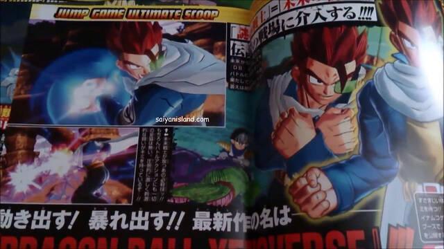 El nuevo personaje de Dragon Ball Xenoverse muestra su cara