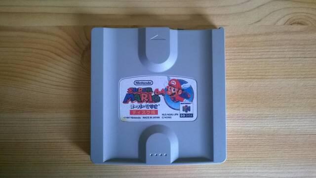 Encuentran un disco con Super Mario 64 DD Edition, nunca puesto a la venta