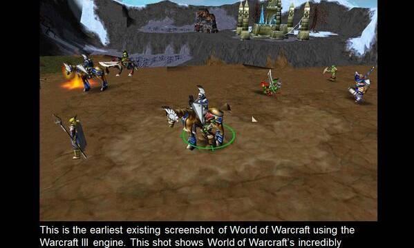 Blizzard muestra imágenes de los primeros prototipos de World of Warcraft