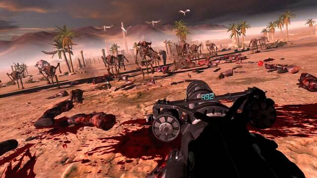 Serious Sam VR: The Last Hope llegará a la realidad virtual este verano