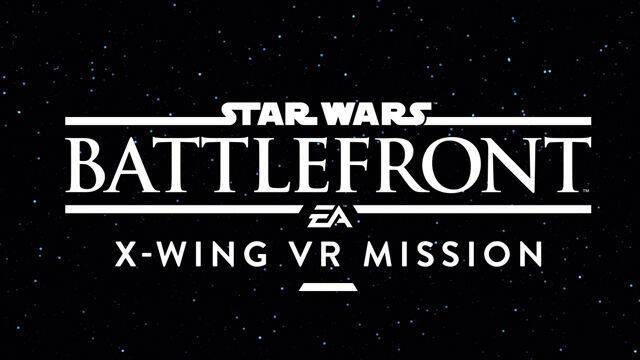 Sony y EA presentan Star Wars: Battlefront X-Wing VR Mission