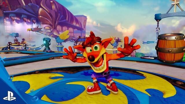 Sony anuncia una remasterización de la trilogía Crash Bandicoot para PlayStation 4