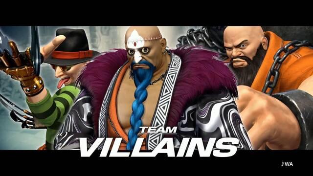 The King of Fighters XIV nos presenta su equipo de villanos en un nuevo tráiler