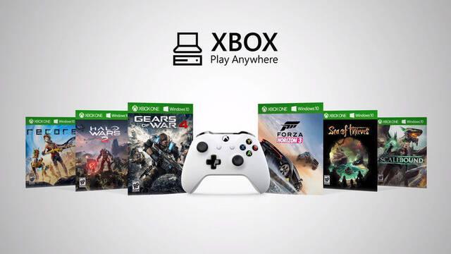 Desvelada la lista de juegos compatibles con el programa Xbox Play Anywhere