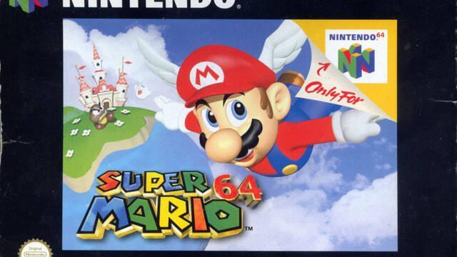 Super Mario 64 cumple 20 años