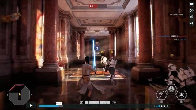 Se filtra un gameplay de 12 minutos de Star Wars Battlefront II