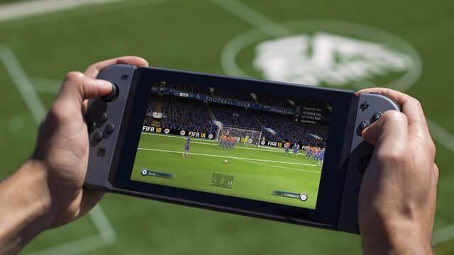 EA muestra y detalla FIFA 18 en Switch