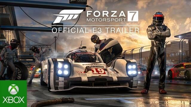 Forza Motorsport 7 se presenta en el E3 2017