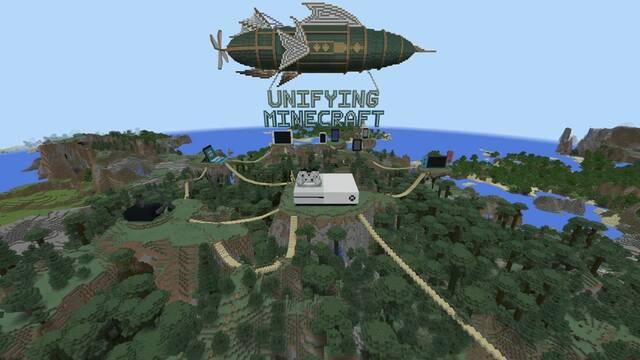 Minecraft tendrá juego cruzado en Xbox One, Switch y PC