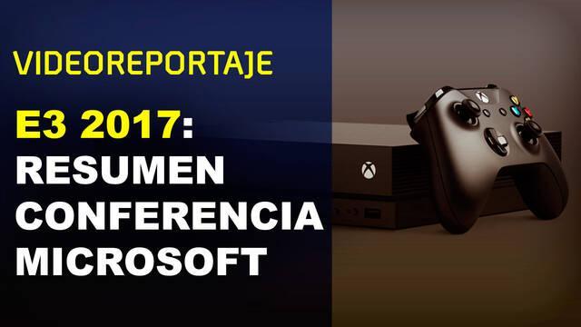 E3 2017: Videoresumen de la conferencia de Microsoft