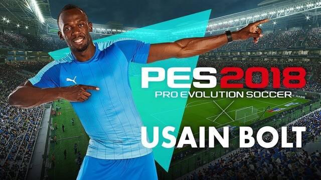 Usain Bolt será un jugador de PES 2018; se muestra el tráiler del E3 2017