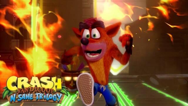 Tráiler de lanzamiento de Crash Bandicoot N. Sane Trilogy