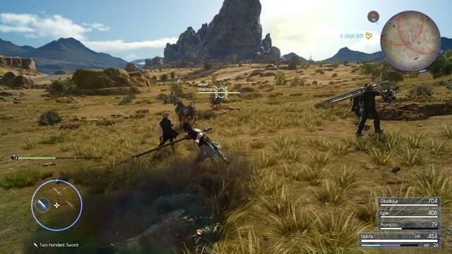 Square Enix habla de las mejoras de Final Fantasy XV en Xbox One X