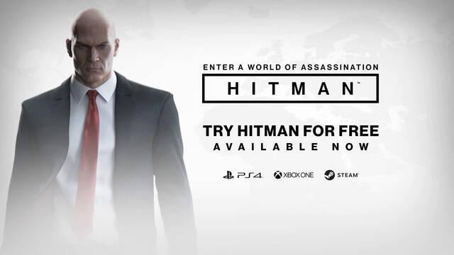 Ya puedes probar gratuitamente el inicio de Hitman