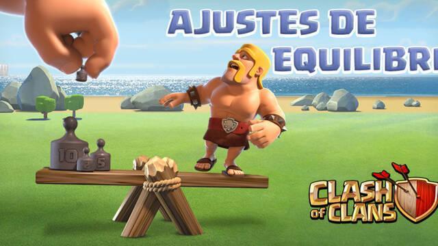 Clash of Clans se actualiza para ajustar su jugabilidad