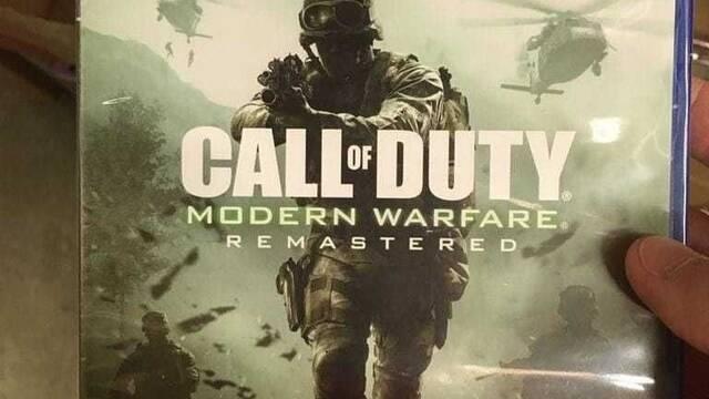 Se filtra la caja y precio de Call of Duty: Modern Warfare Remastered
