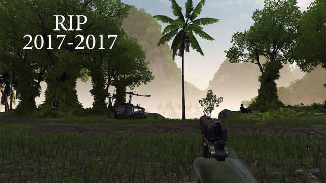 Retiran una palmera de Rising Storm 2: Vietnam porque le molestaba a un jugador
