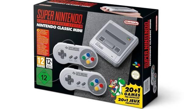 Nintendo producirá más Super Nintendo Mini que NES Mini