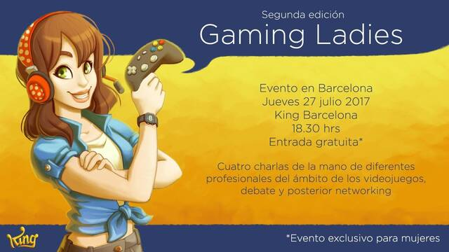 Cancelan el evento solo para mujeres Gaming Ladies por presiones machistas