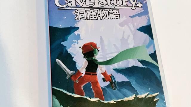 Así es la edición física de Cave Story+ para Nintendo Switch