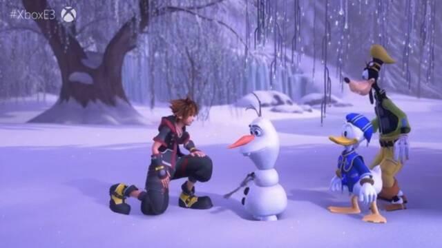 E3 2018: Se confirma el mundo de Frozen en Kingdom Hearts III