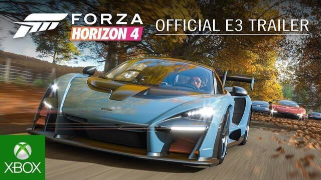 E3 2018: Forza Horizon 4 anunciado para Xbox One y PC
